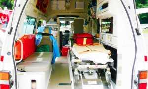 ambulanza interno dietro