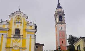 arona campanile collegiata maria