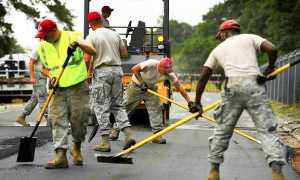 asfalto lavori strada