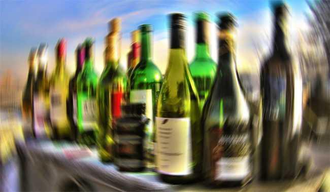 bottoglie alcool