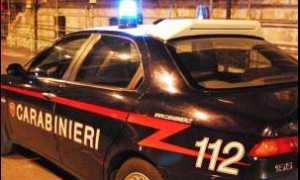carabinieri lampeggianti notte