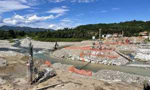 romagnano ponte lavori in corso