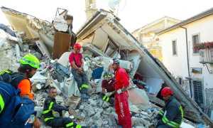 terremoto soccorsi