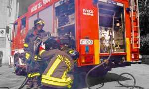 vigili fuoco pompa srotolamento