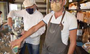 Geleto gorgonzola Borgomanero