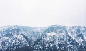 montagne neve