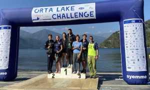 podio orta lake challange