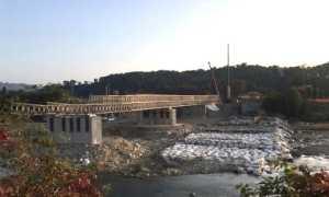 romagnano ponte porvvisorio